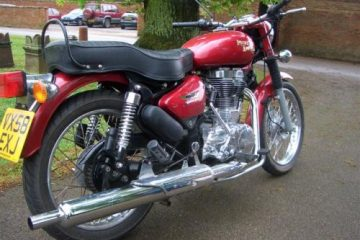 Enfield Bullet in red