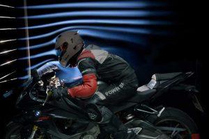 Motorcycle wind noise