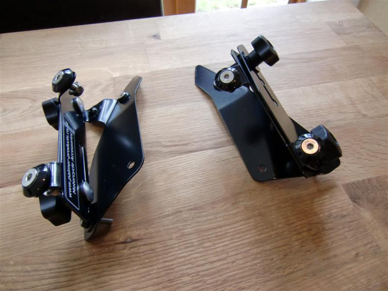 The Palmer Products windscreen brackets