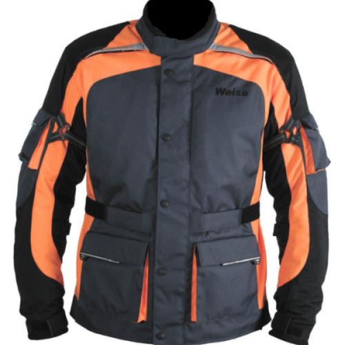 Weise-motorbike-jacket-orange-2010