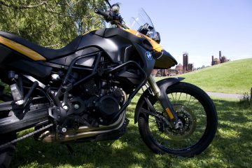 Altrider protection for BMW F800 GS