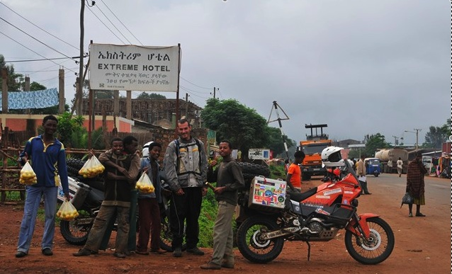 French riders arrive in Ethiopia