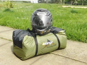 Vango airbeam pack size