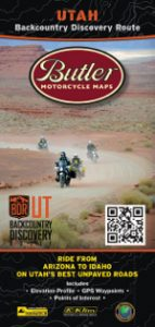 Utah Backcountry Discovery Route map