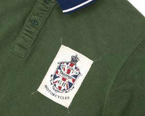 Triumph anniversary polo shirt