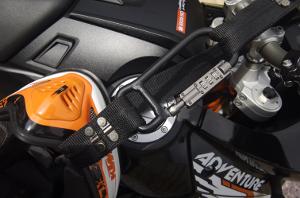 Lockstrap Helmet Lock