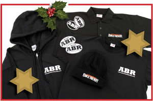 ABR clothing and stickers