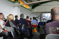 Talks at Touratech Travel Event