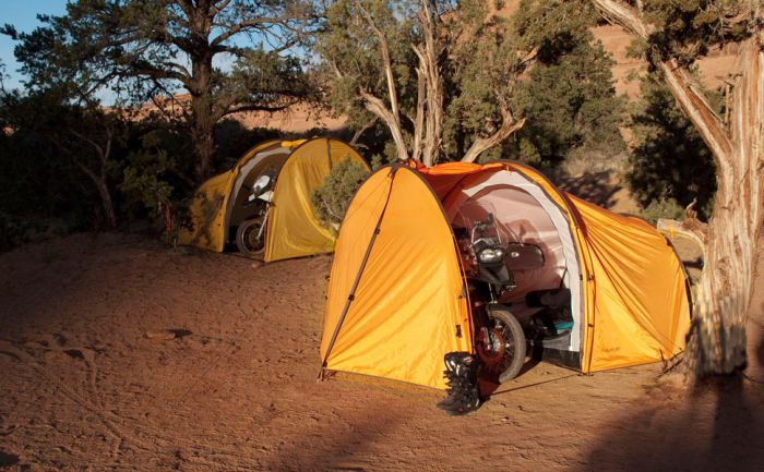 best adventure motorcycle 3 person tent