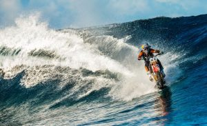 Watch: Robbie Maddison goes surfing... on a KTM