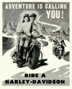 10 old motorcycle adverts that will make you smile