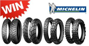 Win a set of Michelin tyres!