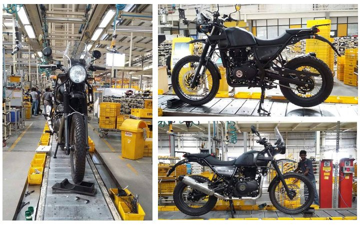 Royal Enfield Himalayan leaked photo