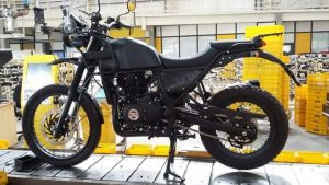New photos reveal Royal Enfield Himalayan on production line