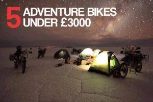 5 adventure bikes under £3000
