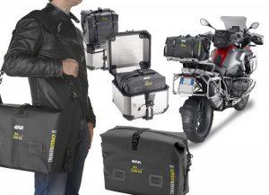 GIVI reveal new waterproof luggage