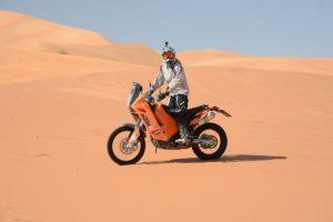 Motorcycle in Oman