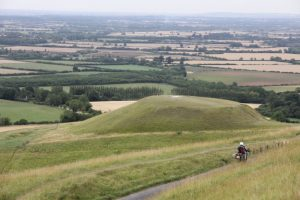 The Ridgeway by motorcycle