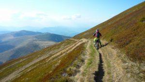Riding Ukraine's Carpathian Mountains