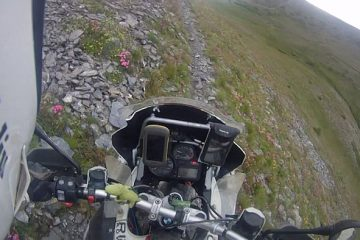 BMW R1200GS off-road