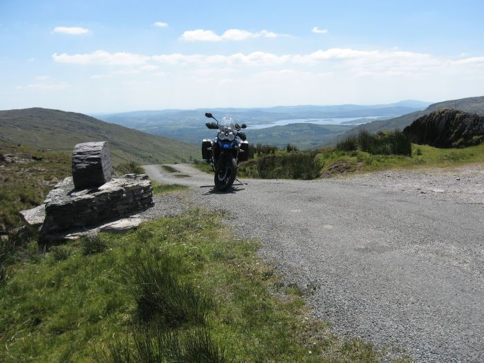 The view from Priest's Leap, Bantry Bay