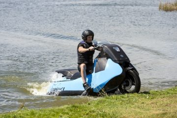 Biski - motorcycle crossed with a jetski