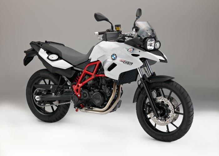 BMW F700GS 2016 White