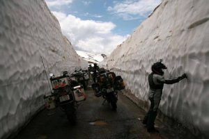 Winter motorcycling