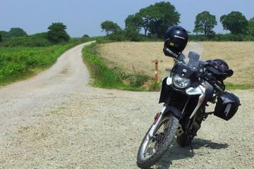 Alex Richard's 125cc Derbi Terra