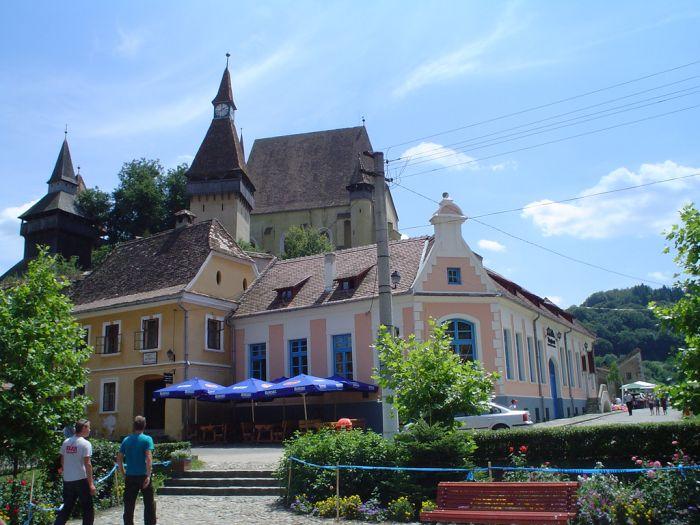 Saxon fortified church, Biertan, Transylvania, Romania