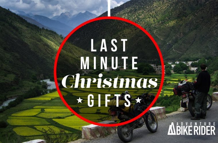 Christmas gifts for adventure motorcyclists