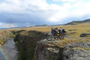 David Nixon in Mongolia