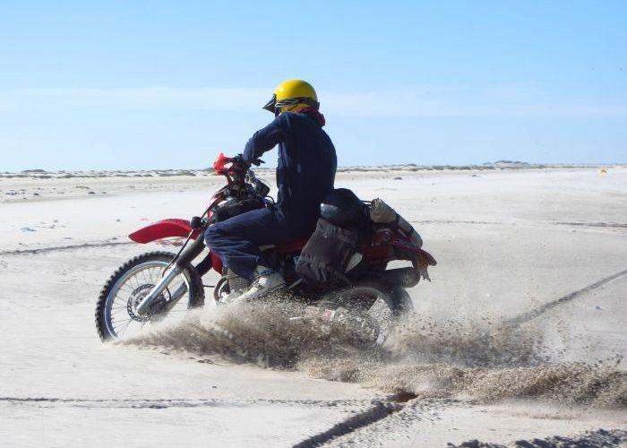 Capturing motorcyle adventure