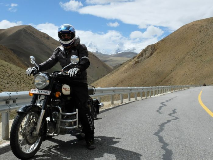 Motorcycle touring Nepal