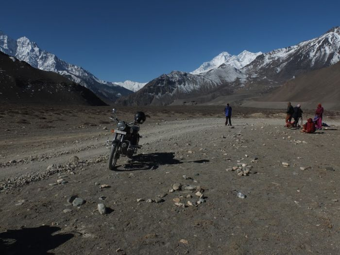 Motorcycle touring in Nepal
