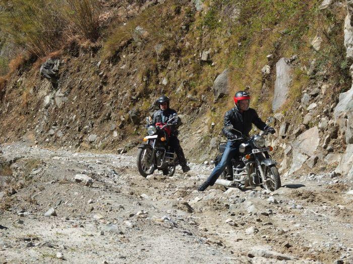 Motorcycle touring Nepal
