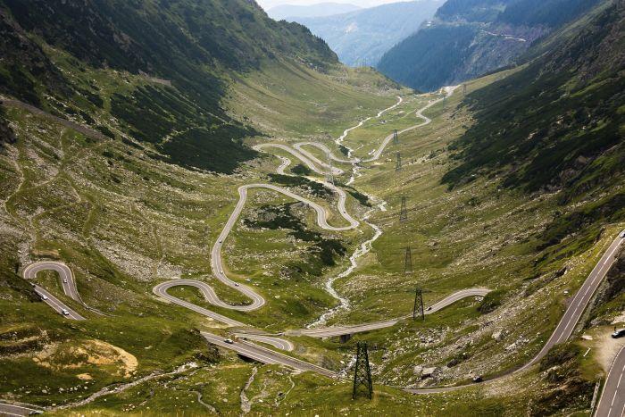 The Transfagarasan Highway, Romania