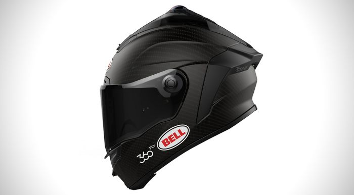 Bell Stat with 360fly smart helmet
