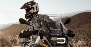 Adventure motorcycle helmet