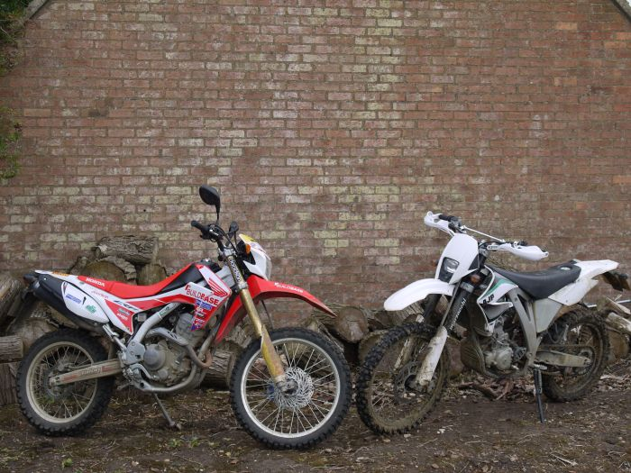 AJP PR5 250 Trail Vs. Honda CRF 250L