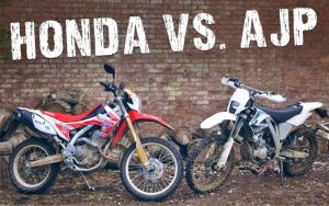 Head to head: AJP PR5 250 Trail Vs. Honda CRF250L