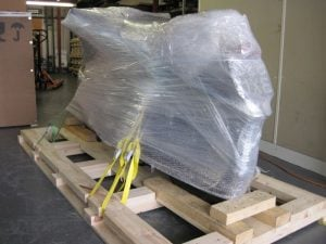 Protective layer for freighting motorbike