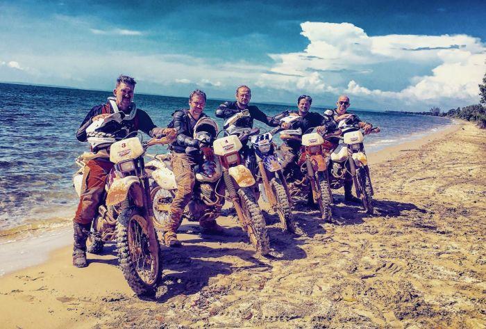 5 Boys 5 Bikes Off-Road Motorbike Adventure in Cambodia
