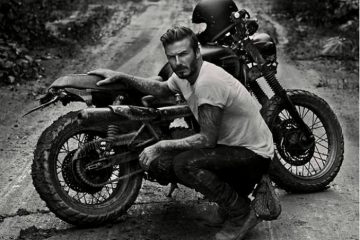 David Beckham's motorcycle