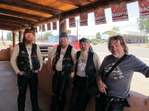 Bikers on Route 66