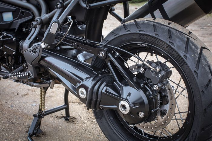 Triumph Tiger Explorer XCa shaft drive