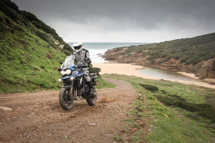 Triumph Tiger Explorer XCa semi-active suspension