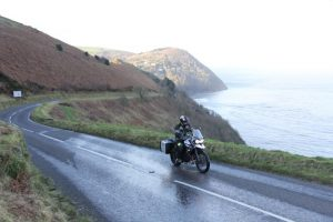 Motorcycle ride on the A39