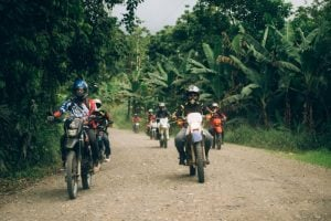 Motorcycle touring Costa Rica