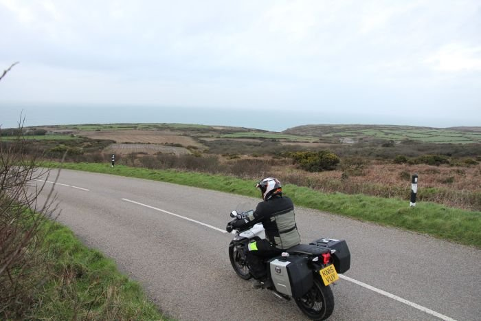 Motorcycle touring Devon and Cornwall